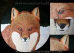 Commission - Fox Stool