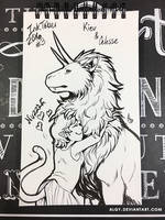 Inktober - Day 3 by algy