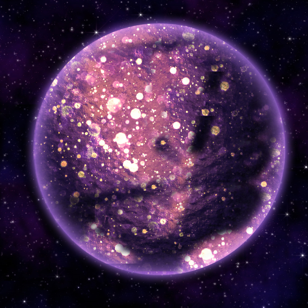 Purple Planet by errno-x on DeviantArt