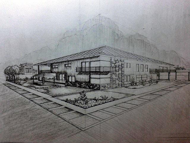 Modern House by Winonanonaonawin