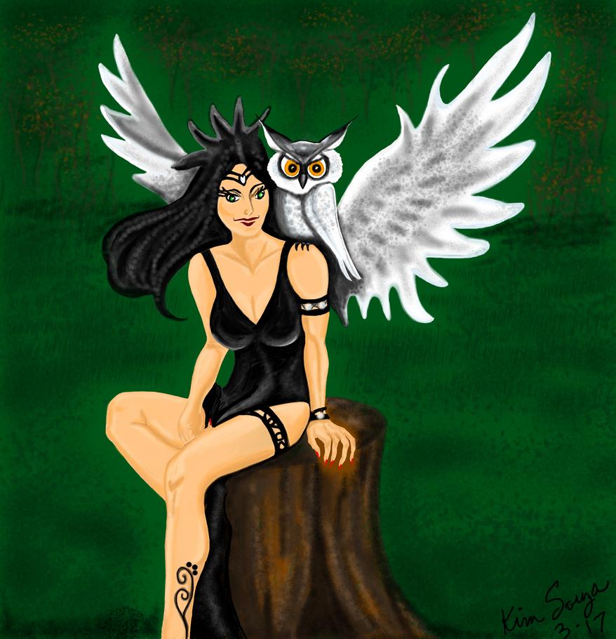 Owl Fairy by SquidVango