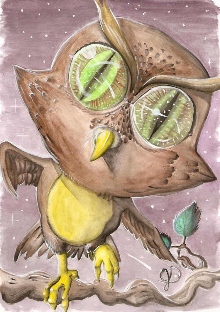 The owl from the stars by gabrieldionizio