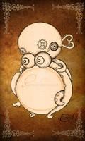Steampunk Clockwork Octopus