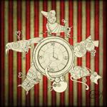 Steampunk Clockwork Carousel
