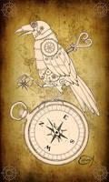 Clockwork Aviator Raven