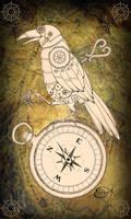 Clockwork Aviator Raven v 2.0