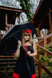 I wait you in the rain... by Sawaii-Nicol-Uzumaki