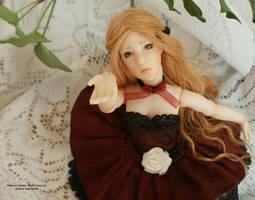 23 Polymer BJD, Primrose Maiden: Black Cherry by Rosen-Garden