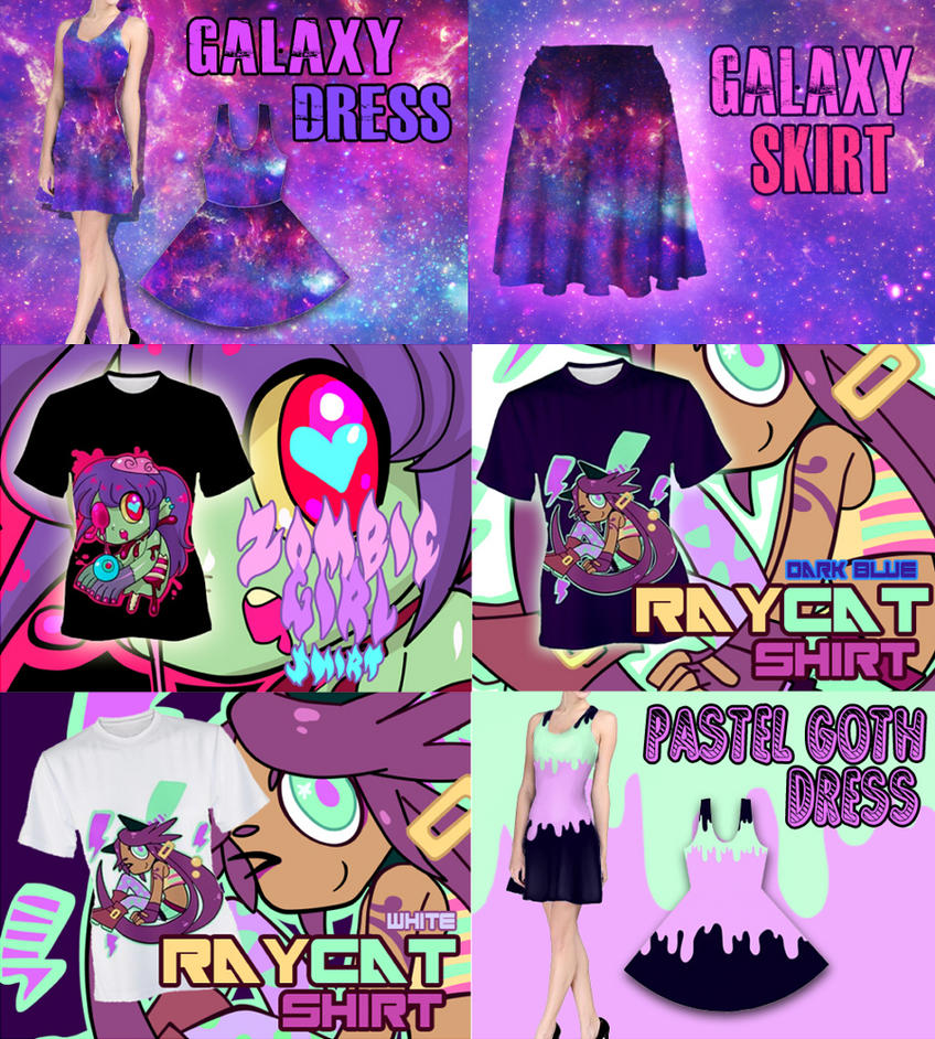 NEW SHIRTS ! by Mafer