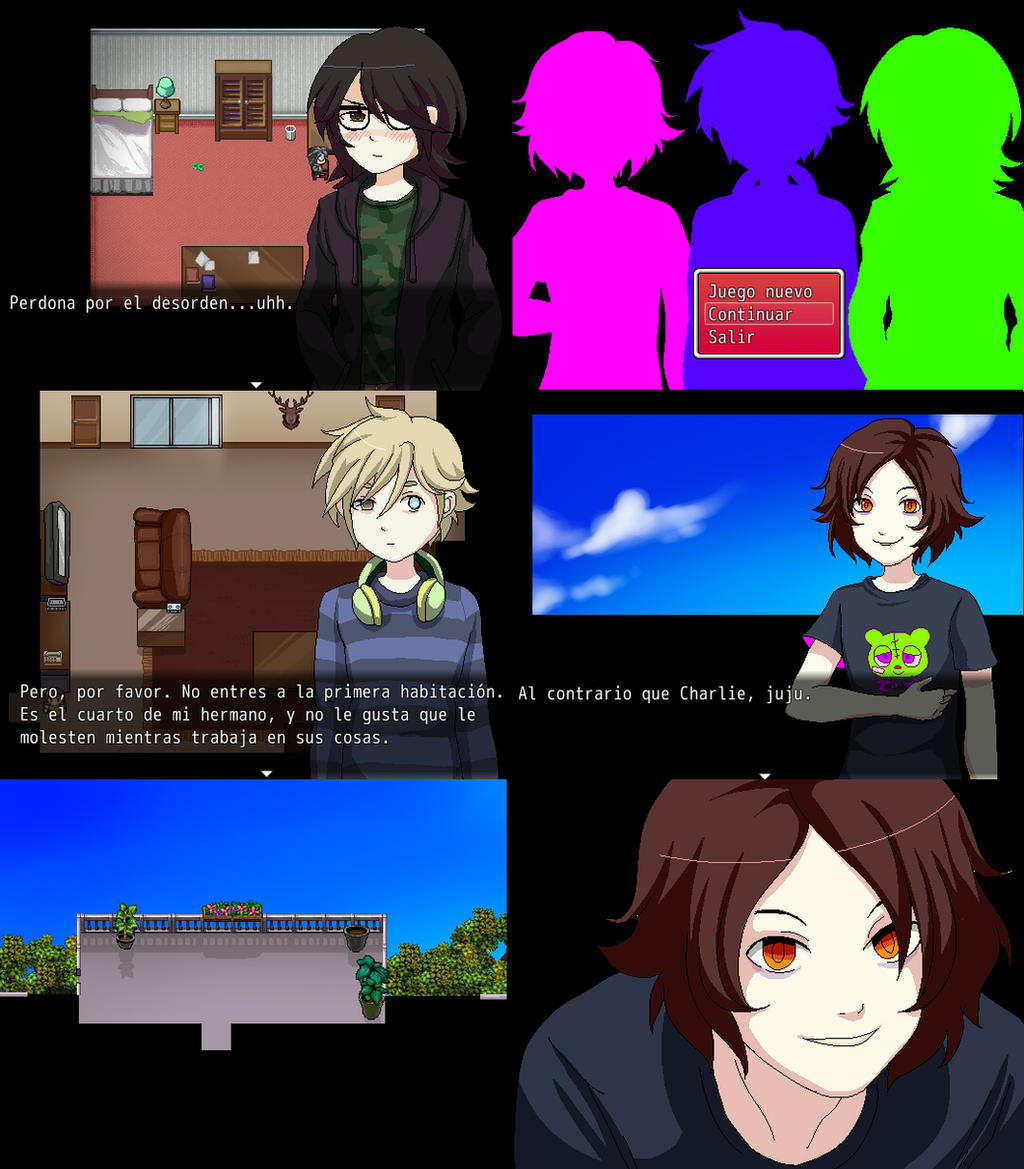 BLOOD SOUP RPG MAKER GAME ENGLISH/SPANISH by Mafer on ...