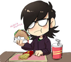 Blood Soup Hamburger time with Keith by Mafer