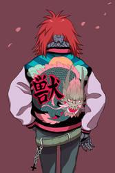 Cyborg Dragon by Mafer