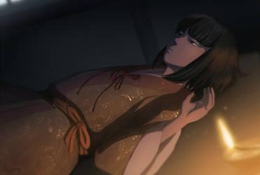 Sekiro Shadows Die twice - Kuro by Mafer