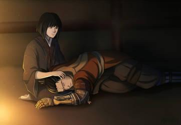Sekiro Shadows Die twice - Sleeping Wolf by Mafer