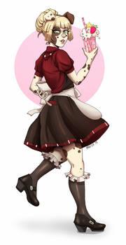 Pig maid