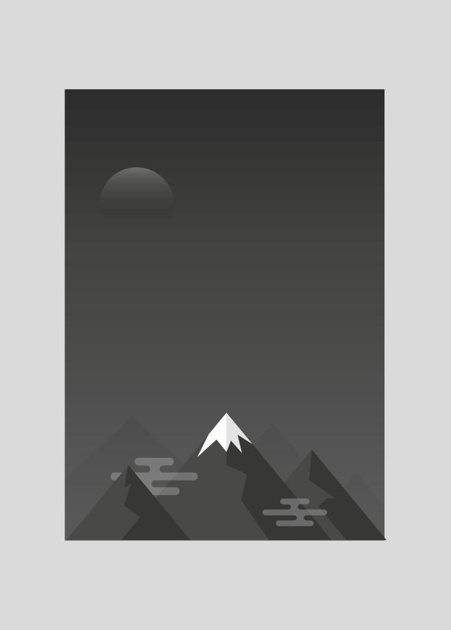Flat design landscape by Killkol