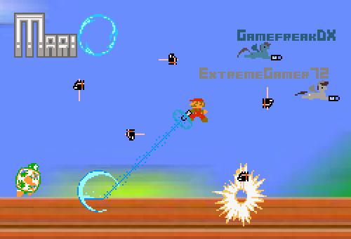 GamefreakDX- MariO LP Screen (For ExtremeGamer72) by GamefreakDX