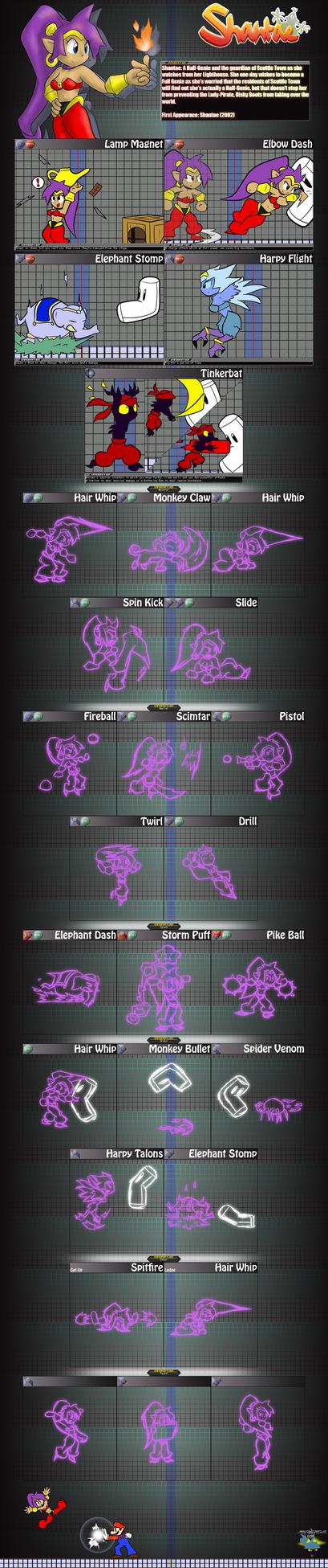 Smash Bros. Wishlist: Shantae by GamefreakDX