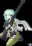 Sword Art Online- Sinon