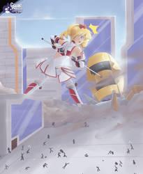 Ragnastrike Angels- Kasumi ~ Unexpected Praise by GameSquid