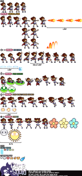 Puyo Puyo x Smash Bros- Special Moveset Sheet