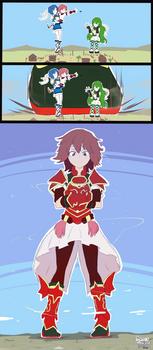 Fire Emblem- Mini-rva Towers [Doodle]