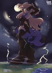 [Art Trade] Genshin Impact- Thunderous Rumblings