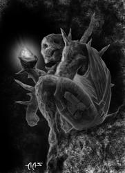 Battlelords Gemini Rockman by raben-aas