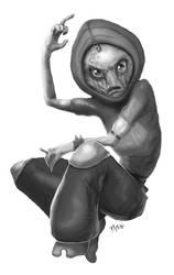 Alien Gangsta by raben-aas