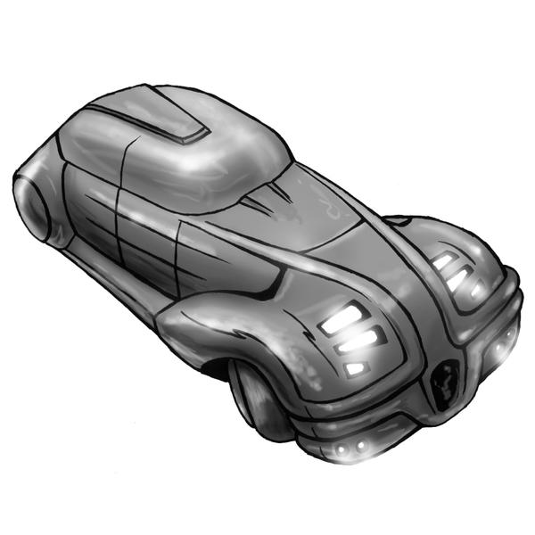 Shadowrun Limousine by raben-aas