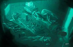 Shadowrun Missions Illu by raben-aas