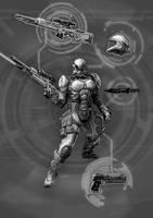 Shadowrun MET2000 Soldier by raben-aas