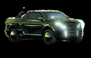 Shadowrun Xheavy Pickup Truck by raben-aas