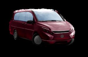 Shadowrun VW Multicity Multi-purpose Van by raben-aas