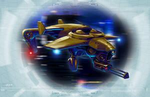 Shadowrun S-K Jagdschrecke Hunter Drone by raben-aas