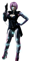Shadowrun Female Decker