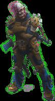 Shadowrun Stadtkrieg Urban Combat Player by raben-aas