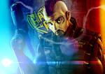 Shadowrun Character Commission Artwork