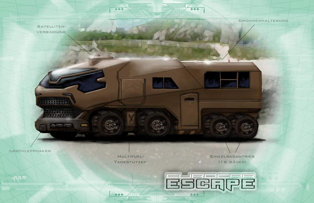 Shadowrun Eurocar Escape by raben-aas