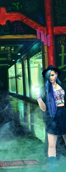 SHADOWRUN ACHE revisited by raben-aas