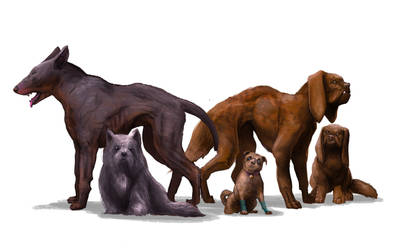 ABOREA Monster Dogs by raben-aas