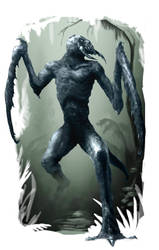 ABOREA Monster Hook Horror Variant by raben-aas