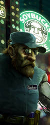 Shadowrun Chicago Chaos Goober by raben-aas