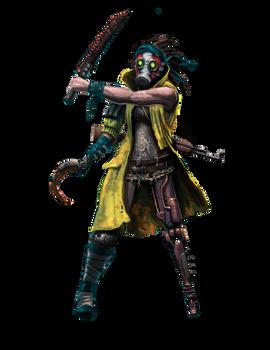 Shadowrun Toxic North Sea Pirate