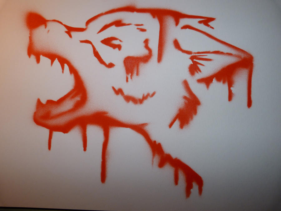 Stencils Of Wolves Stencil Wolf By Amytsuku