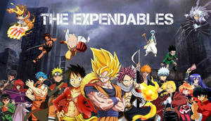 Anime Mix - The Expendables