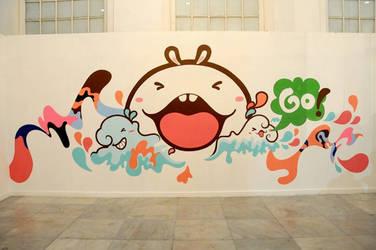 Mural at Galeri Nasional