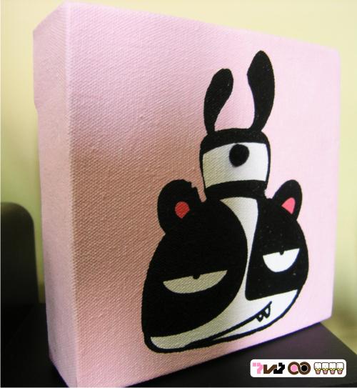 FALLIN PANDA by pinkversusblack