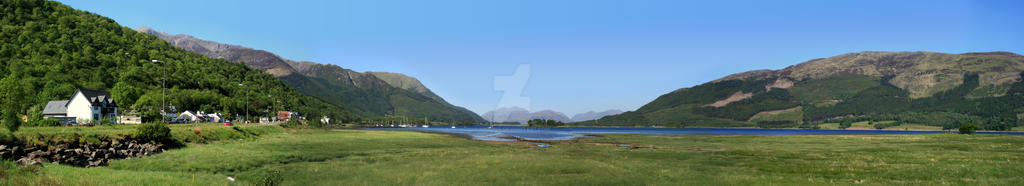 Panorama - Loch Leven by ShalisR