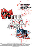 Full Metal Jacket Poster by papinodzing